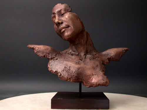 Bronze Contemporary Modern Art Sculpture Pleasure