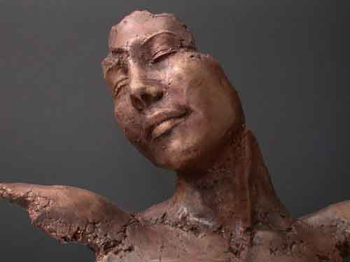 Image 1 of Bronze Contemporary Modern Art Sculpture