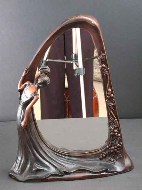 Image 0 of Bronze Mirror Sculpture