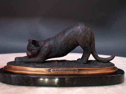 Image 0 of Bronze Cat Sculpture
