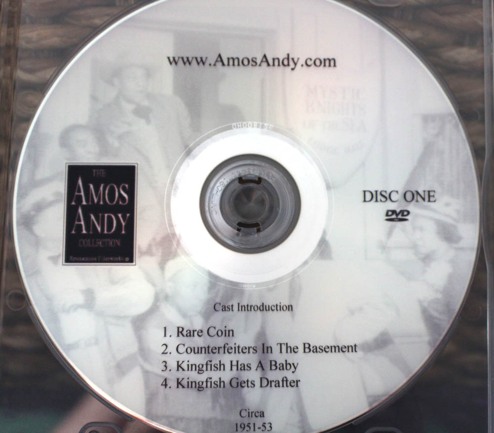 Only Complete Amos and Andy DVD Box Set with Episodes available ...