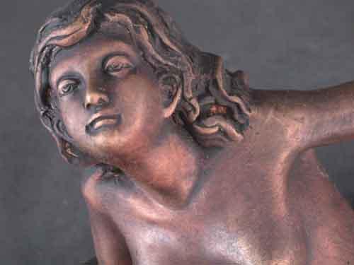 Image 1 of Bronze Female Sculpture